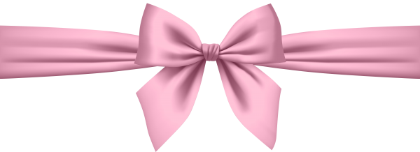 Fun image of a pink gift bow.
